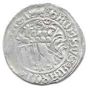 1 schwertgroschen Friedrich II. and Wilhelm III. – revers