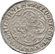 1 Fürstengroschen - Friedrich IV. der Streibare (Freiberg) – avers