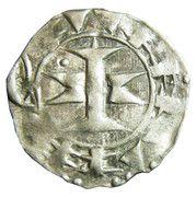 Denier melgorien ( X - XIIIe siècles ) -  avers