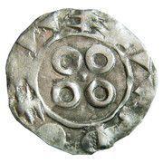 Denier melgorien ( X - XIIIe siècles ) – revers