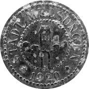 50 pfennig - Melsungen – avers
