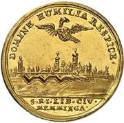 1 ducat (Confession d'Augsbourg) – avers