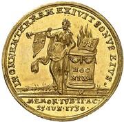 1 ducat (Confession d'Augsbourg) – revers