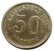 50 pfennig - Menden – revers