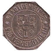 10 pfennig - Bad Mergentheim – avers