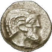 Obol (Babylonian period 586-539 BCE) – avers