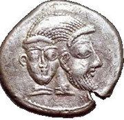 Drachm (Babylonian period 586-539 BCE) – avers