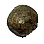 Clay Token - Mesopotamia counting tokens (Sumerian token: type I numeral 10 - Elam's heartland) – revers
