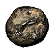 Clay Token - Mesopotamia counting tokens (Sumerian token: type I numeral 10 - Elam's heartland) – avers