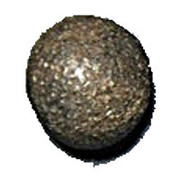 Clay Token - Mesopotamia counting tokens (Sumerian token: type I numeral 100 or 3600 - Elam's heartland) – avers