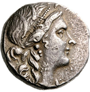 Tetradrachm (Messene) – avers