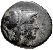 Bronze Æ15 (Methymna) – avers