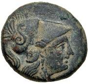 Bronze Æ16 (Methymna) – avers