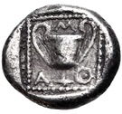 Drachm (Methymna) – revers
