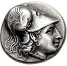 Hemidrachm (Methymna) – avers