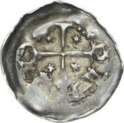 Denier Adalbéron IV (Évêché de Metz) – avers