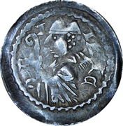 Denier Jacques de Lorraine (Évêché de Metz) – avers