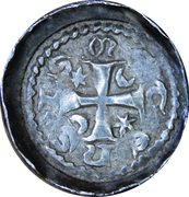 Denier Jacques de Lorraine (Évêché de Metz) – revers