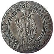 Gros au saint Étienne debout - ÉVÊCHÉ DE METZ - THIERRY V BAYER DE BOPPARD (74e évêque) – avers