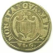 ½ franc de six gros – revers