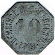 10 pfennig - Meuselbach – avers