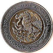 5 pesos Venustiano Carranza -  avers