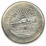5 pesos Voie Ferrée Sud -  revers