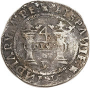 4 reales - Charles I (monnaie coloniale) – revers