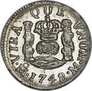 ½ real - Fernando VI (monnaie coloniale) – revers