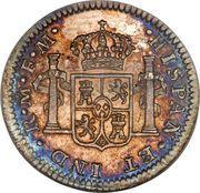 ½ real - Carlos III (monnaie coloniale) – revers