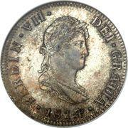2 reales - Ferdinand VII (monnaie coloniale) – avers