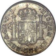 2 reales - Ferdinand VII (monnaie coloniale) – revers