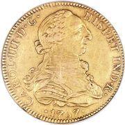 8 escudos - Carlos III (monnaie coloniale) – avers