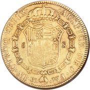 8 escudos - Carlos III (monnaie coloniale) – revers