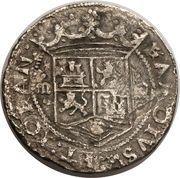 3 Reales - Charles I – avers