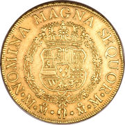 8 Escudos - Ferdinand VI – revers