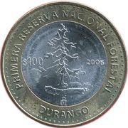 100 Pesos (Durango) – revers