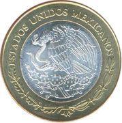 100 Pesos (Distrito Federal) – avers