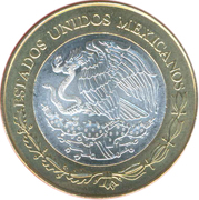 100 Pesos (Chiapas) – avers