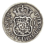 1 Real - Philip V (Colonial Milled Coinage) – avers