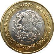 10 pesos (bataille de Puebla) -  avers