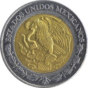 5 pesos Ignacio Lopez Rayon -  avers