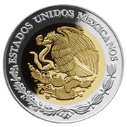 100 Pesos (Aguascalientes - Gold & Silver Proof Issue) – avers