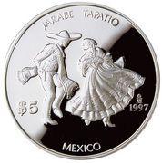 5 pesos Jarabe tapatío -  avers