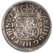 1 Real - Carlos III (monnaie coloniale) – avers