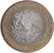 100 pesos Mexico City – avers