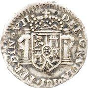 ½ Real - Fernando VII (Zacatecas - Royalist Coinage) – avers