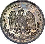 8 Reales (Pattern strike, Silver) -  avers