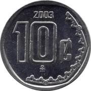 10 centavos (grand module) -  revers