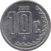 10 centavos (petit module) -  avers